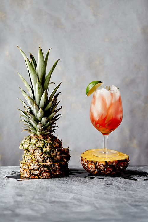 bay breeze cocktail recipe / anthropologie blog