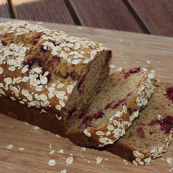 This banana and raspberry bread is a super popular recipe of ours, it's viewed and made daily by hundreds of people around the world.