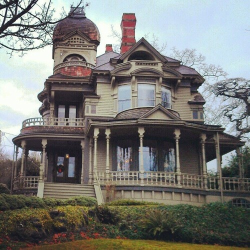 Victorian House Cir 1892 At Fairhaven Wa Vancouver