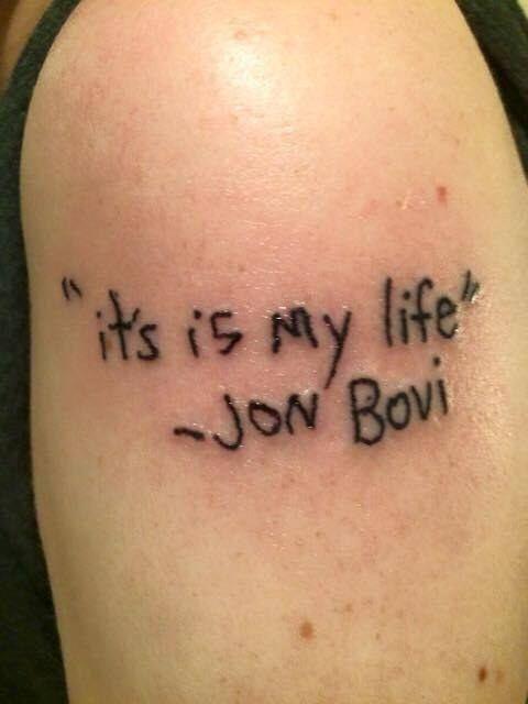 Lo que no saben es que Jon Bovi es una banda nueva en el circuito underground de Portland. | 23 Memes que únicamente te darán risa si te gusta la música