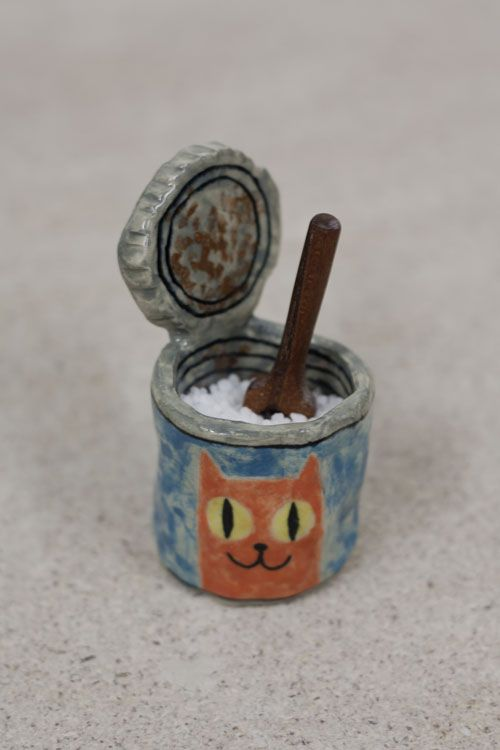 Clay Cat Food