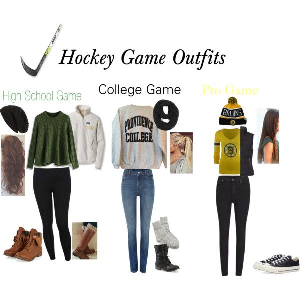fancy women's hockey game outfit play