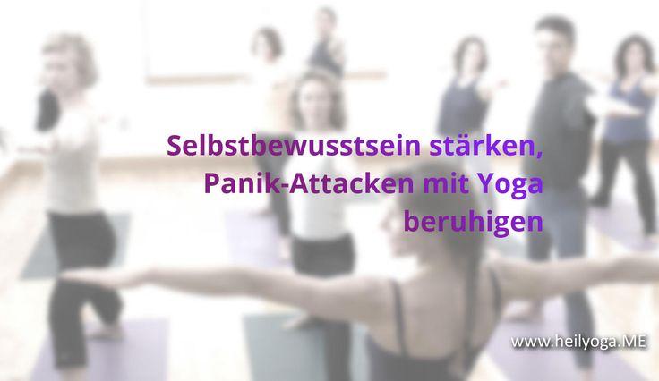 Selbstbewusstsein stärken, Panik-Attacken mit Yoga beruhigen  FRAGE    Wie kann man mit Yoga das Selbstbewusstsein stärken? Ich stelle fest, dass zu mir in die Yogakurse immer mehr Leute kommen, die unter Panikattacken und mangelndem Selbstbewussts...