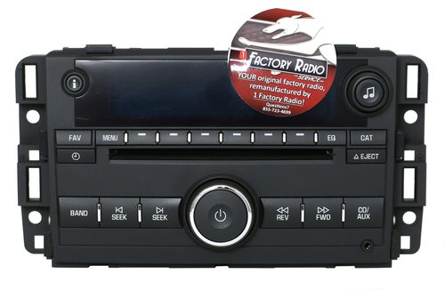 CD Repair Service Only for 2011-2012 Chevrolet Impala AM FM mp3 Radio CD Player
