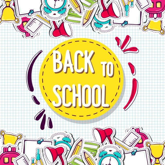 Back To School Background With Elements Back To School Clipart Background School Png And Vector With Transparent Background For Free Download Vetores Desenhos Do Doodle Desenho Escola