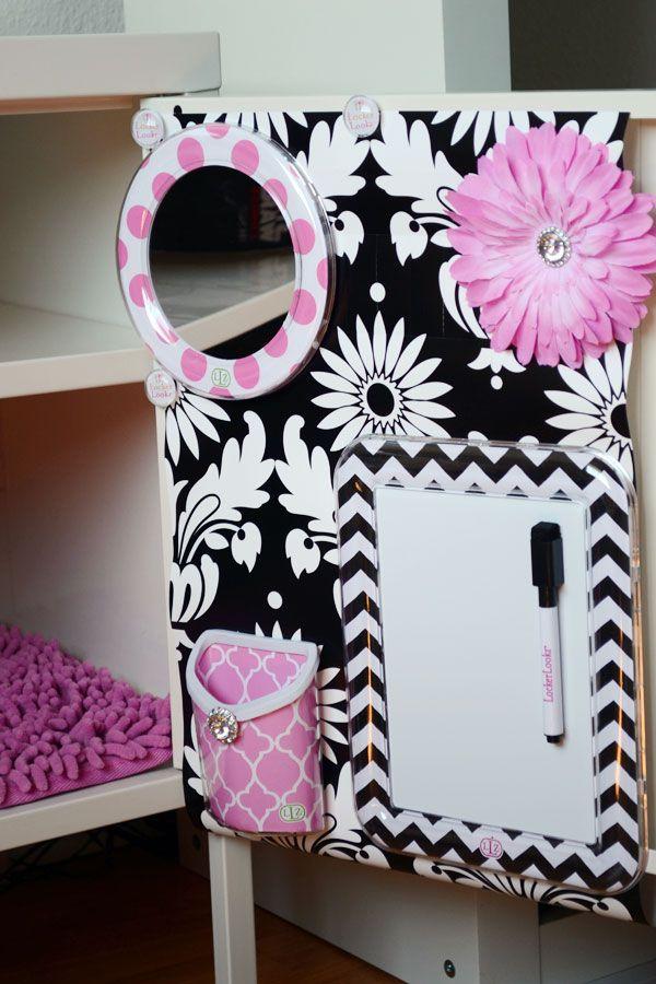 Locker Designs Ideas diy back to school projects for teens and tweens locker decoration ideas customized school Cute Locker Decor Ideas For Girls