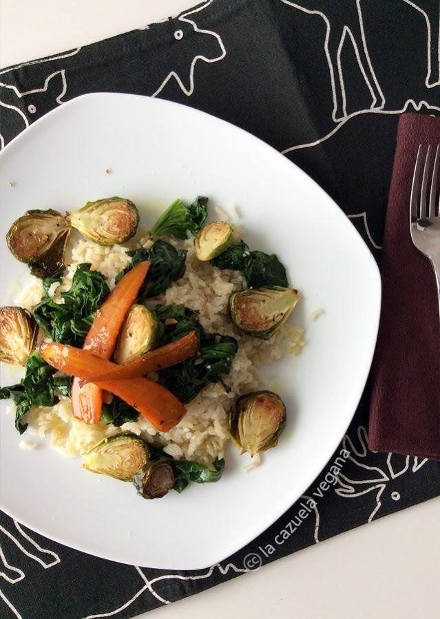 87 best images about arroz vegano on pinterest paella - Arroz con verduras light ...