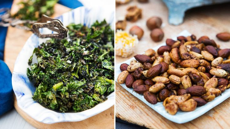 7 nyttiga snacks och tilltugg