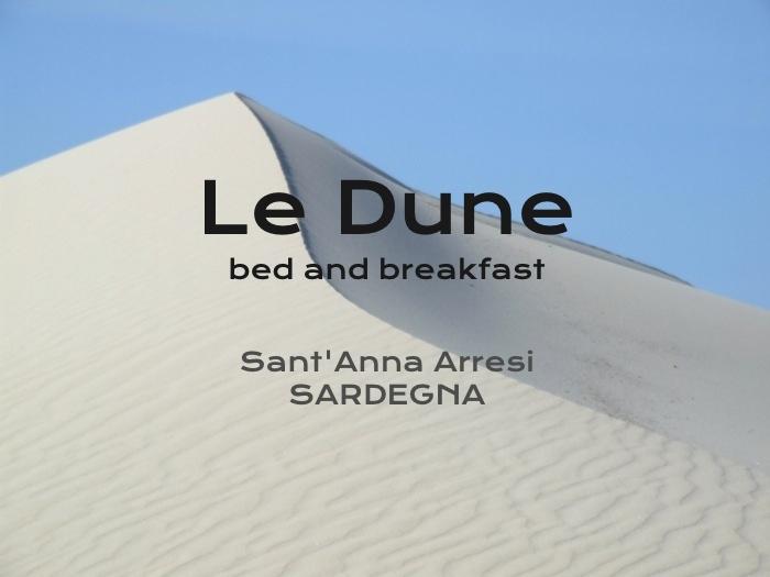 B Le Dune ... Sardegna - Sant'Anna Arresi - Porto Pino