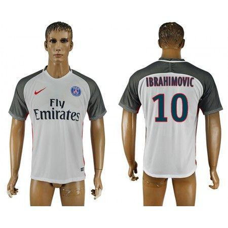 PSG 16-17 Zlatan #Ibrahimovic 10 TRödjeställ Kortärmad,259,28KR,shirtshopservice@gmail.com
