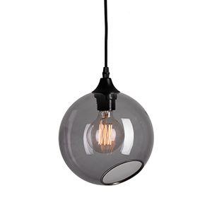 CASANOVA Møbler — Design By Us - BallRoom pendel - smoke med sølv kant