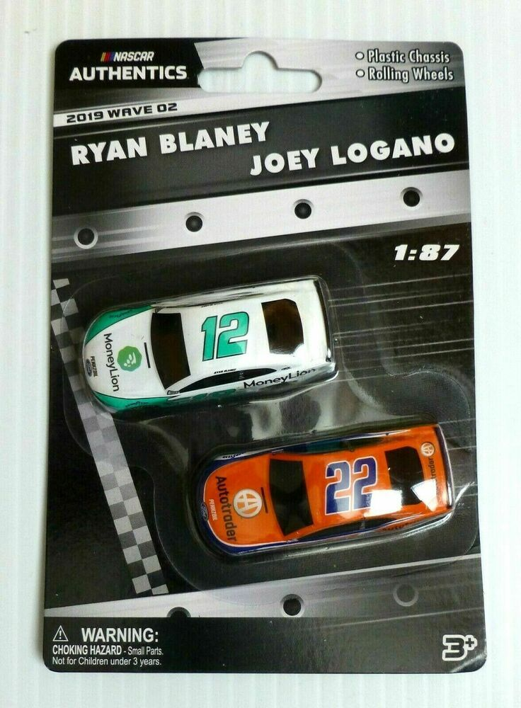 2019 Wave 5 Joey Logano Brad Keselowski Autotrader 1//87 NASCAR Authentics Twin
