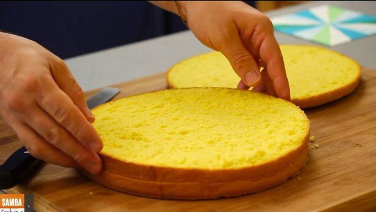 Esse e o segredo para preparar vários tipos de Pão de lo para Bolos de Aniversário e Festas.