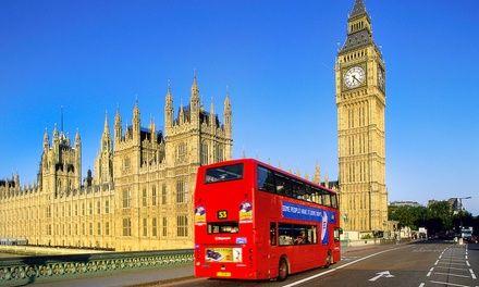 Weekend à Londres, 2 nuits dans le centre-ville: En promotion à 249€. Découverte de la capitale britannique avec hébergement dans la zone 1…