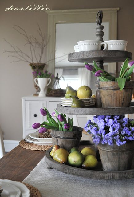 17 Best Ideas About 3 Tier Stand On Pinterest Farmhouse