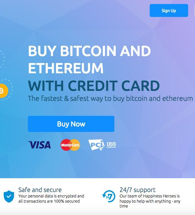 safest way to buy bitcoin with credit card