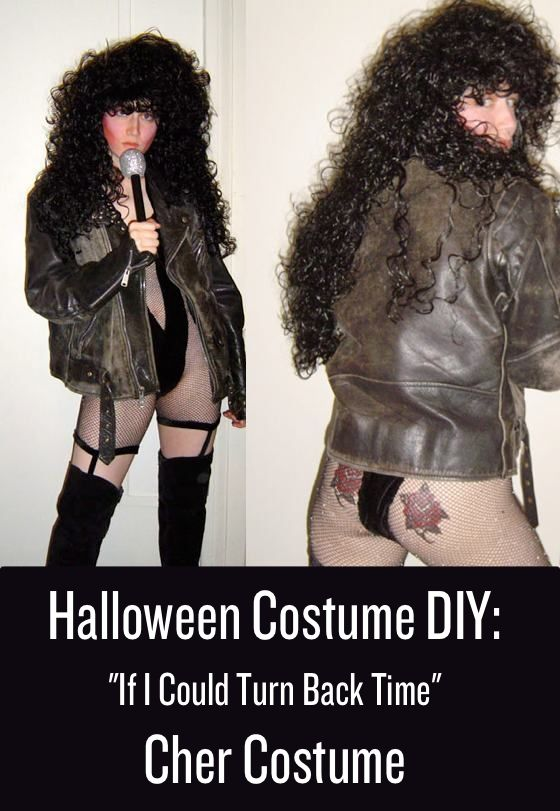 Halloween Costume DIY: Cher Costume from If I Could Turn Back Time