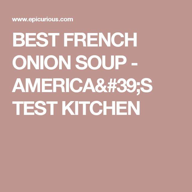 Americas Test Kitchen Best Broth