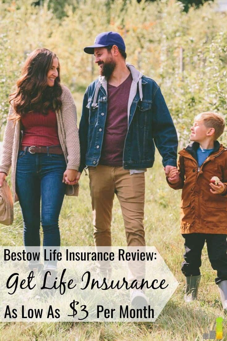 Bestow review get life insurance as low as 3 per month