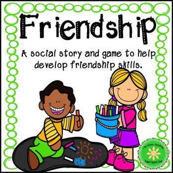 "Do your students struggle with their social skills? Friends is a short social story to teach kids how to make and keep friends. Points covered in the story:How to introduce yourself to a new friendHow to greet someone you already knowWhat to talk about with friendsWhat if someone doesn't want to play or talk with youThe friendship ""rules"" (good friends..."
