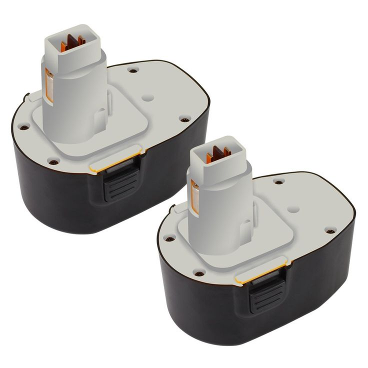 Topbatt 2Packs 14.4V 3.0Ah NI-MH Battery for Dewalt XRP DW9091 DW9094 DC9091 Cordless Power Tools