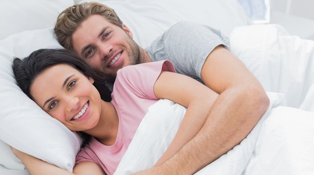 Relevance of couples' sleeping positions