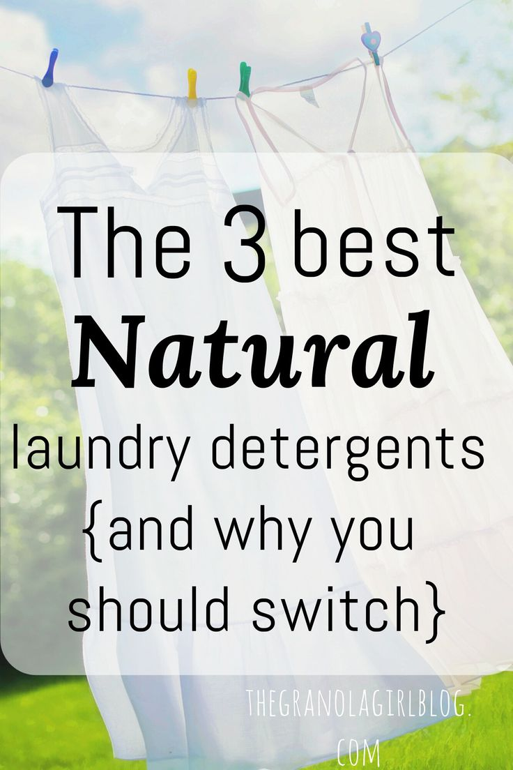 The 3 best natural laundry detergents {and why you should switch}