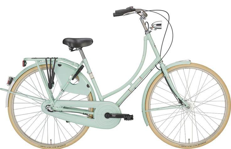 Bikes Holland : Excelsior Luxus ND TB freshmint 2017 Hollandrad Damen 3-Gang 28 Zoll RH50