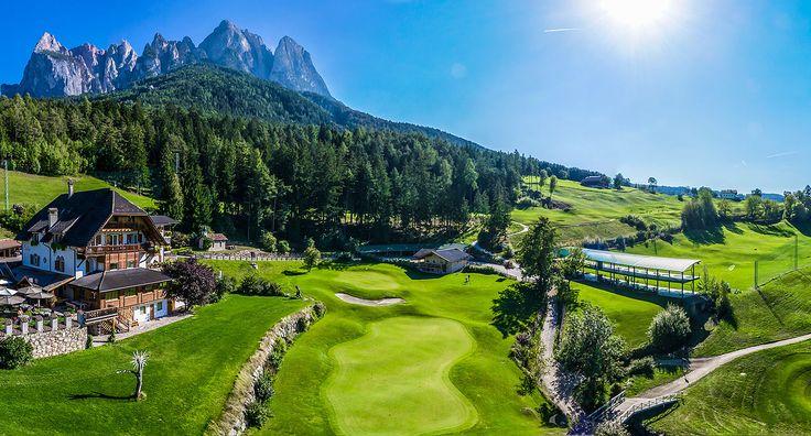 Golfclub St. Vigil Seis - 18-Loch-Golfplatz in Südtirol. Anspruchsvoll, körperliche hersausfordernd - Glückgsgefühl pur nach 18 Löchern