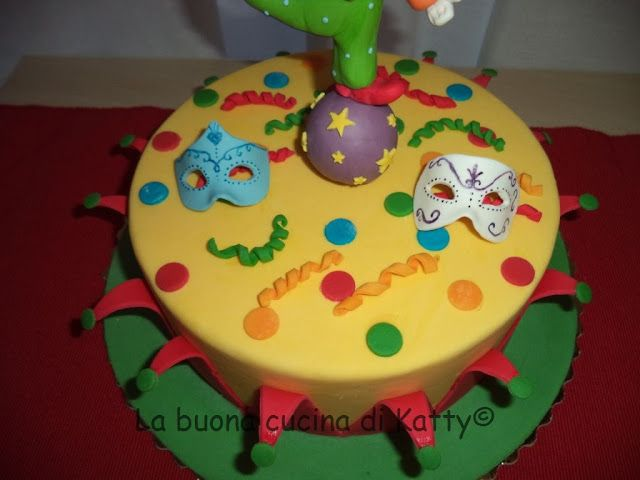 Katty's cakes - Le torte di Katty : Torta Pagliaccio equilibrista - Circus cake