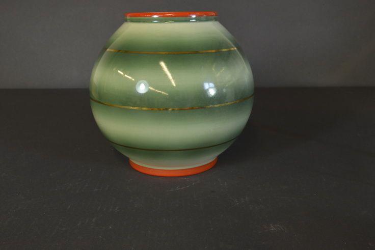 Porsgrund Porcelain Large globe vase Nora Gulbrandsen - Model 1726.