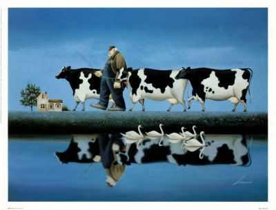 Delta Cows - Bring home the cows. The day is done.