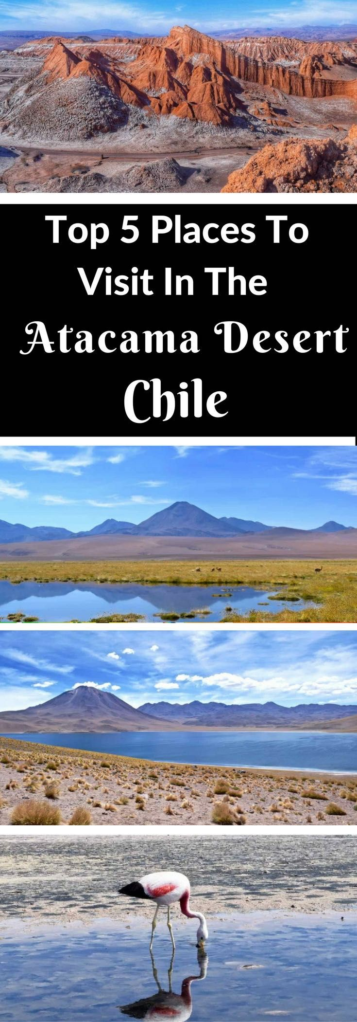 Top 5 Places To Visit In The Atacama Desert, Chile