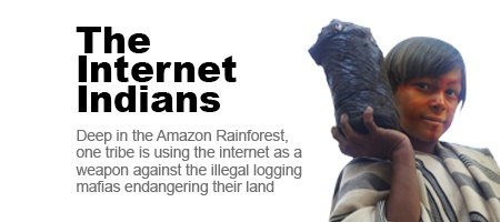 Meet the tribe using the internet to tackle the logging mafias targeting their villages.