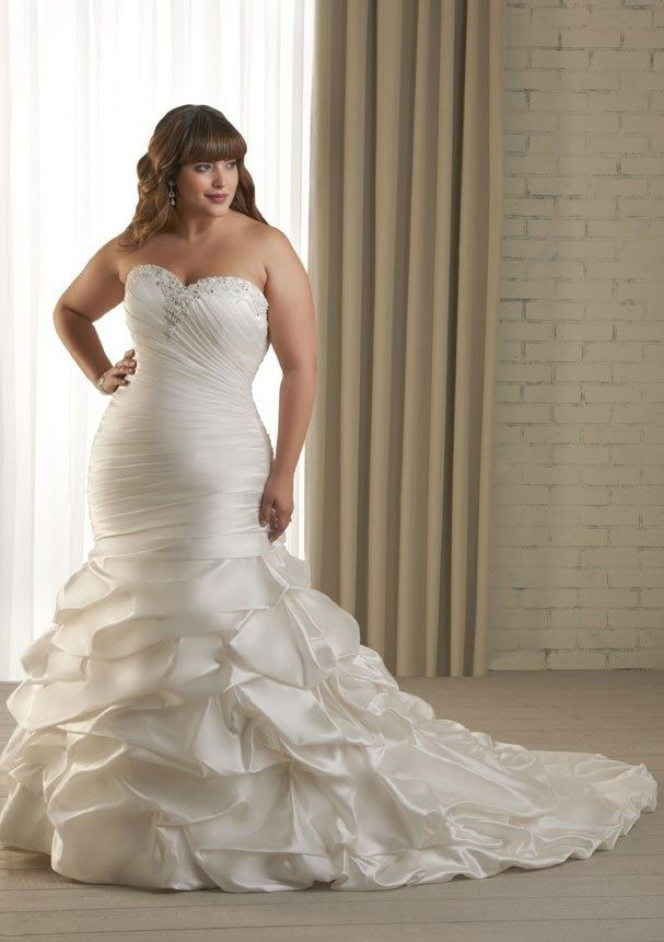 21 best plus size wedding gowns images on pinterest | custom made