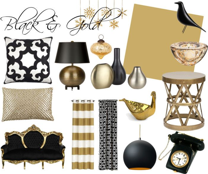 Black Gold Holiday Gold Black Gold Bedroombedroom Decorbedroom