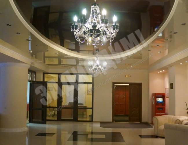 Светодиодное освещение ресторана гостиницы Князь Владимир.