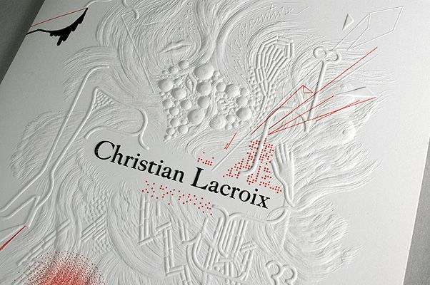 CHRISTIAN LACROIX HAUTE COUTURE INVITATIONS By Antoine + Manuel