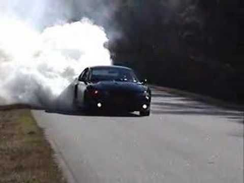 2003 Mustang Cobra Burnout...these mustangs were called the terminator for a reason.The capability of these cars is massive with just a tune.