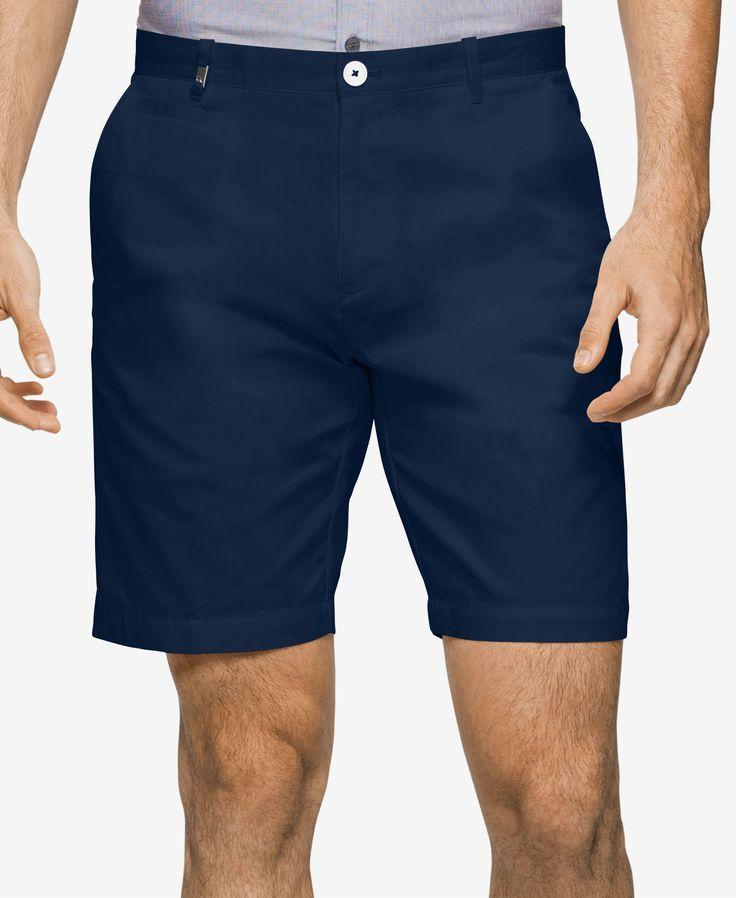 "Calvin Klein Men's Slim-Fit Tonal Stripe 9"" Shorts"