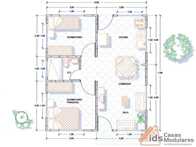 47 best A-ARQ-PLANS images on Pinterest House blueprints, Tiny