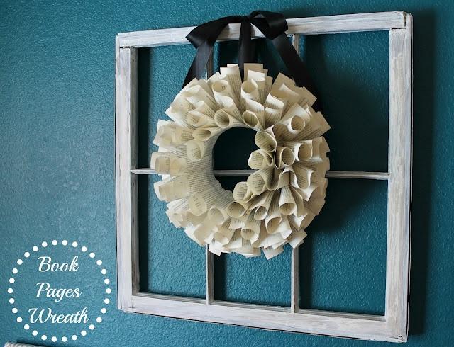 DIY Book Pages Wreath!!!: Diy Ideas, Crafty Homemaking, Crafts Ideas, Books Pages Wreaths, Crafts Projects, Books Wreaths, Crafty Business, Diy Books, Crafty Ideas