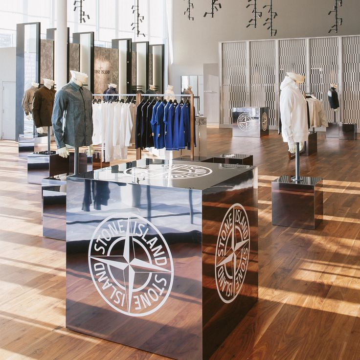 Stone Island opens its 2,000 square foot pop-up shop @HoltRenfrew 's Square One store in West Toronto