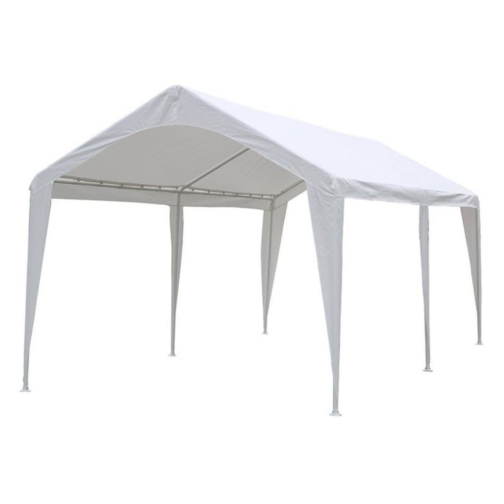 Abba Patio Domain Versatile Shelter 10 x 20 ft. Carport Canopy - APGP10206W