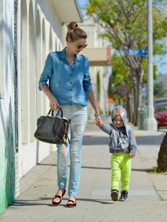 Miranda Kerr Takes Son Flynn To Kid's Gym Romp In Hollywood