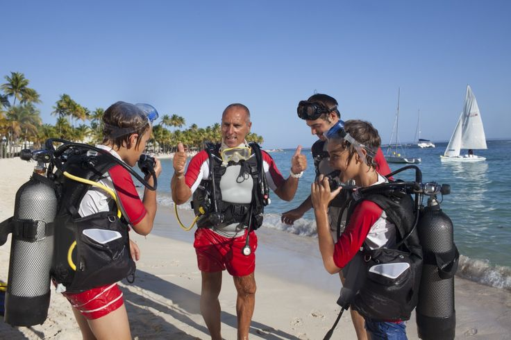 Club Med La Caravelle, Guadeloupe. Plongée sous-marine.