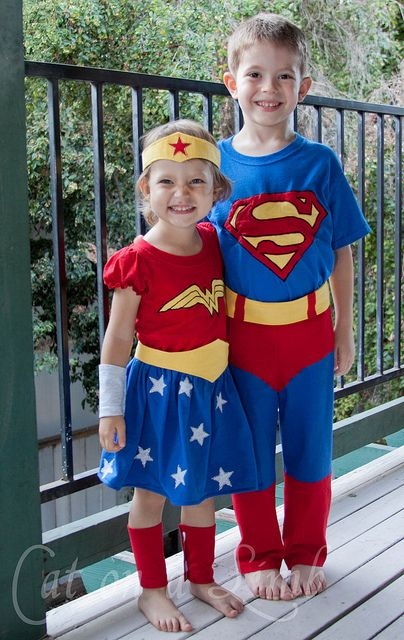 Super hero costumes from tshirts