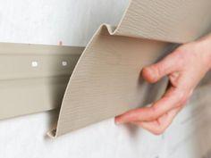 How to Install Vinyl Siding | how-tos | DIY                                                                                                                                                                                 More