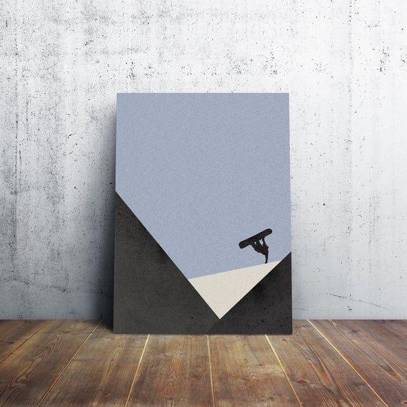 Username Ideas Instagram Cute Username Ideas Instagram Snowboarding Poster Mountain Art Art