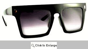 Tokin Retro Wayfarers Sunglasses - 389 Black